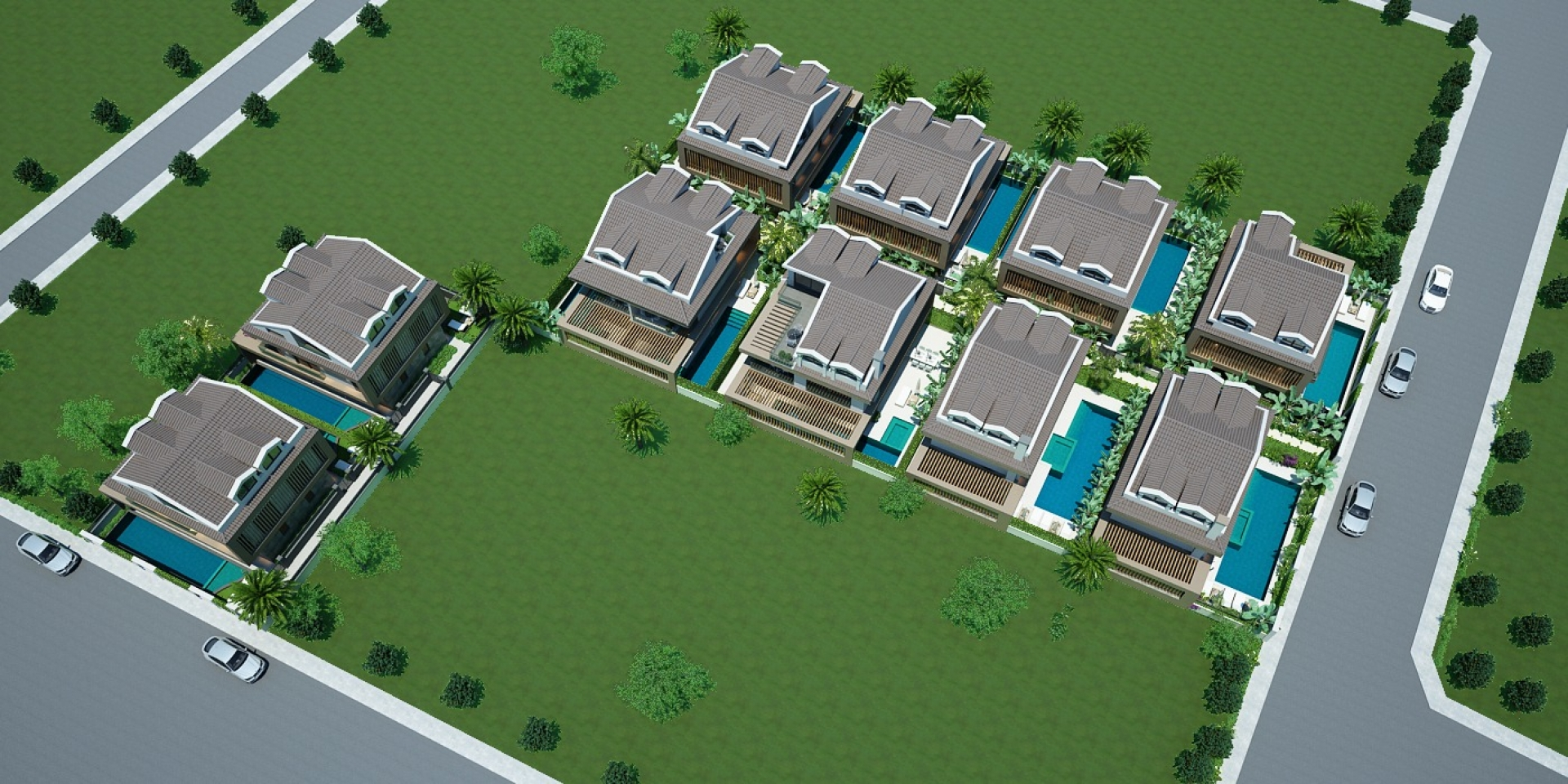 Fethiye Merkez Akarca Mevkiinde  Satılık Lüks Müstakil  Villa