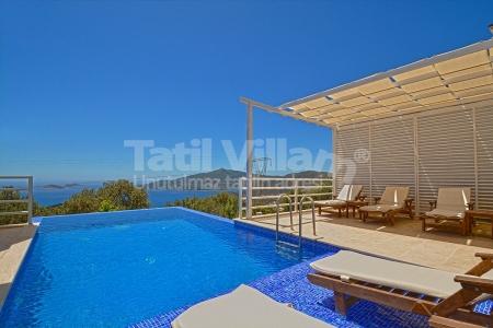 Kalkan Kördere'de Satılık Villa