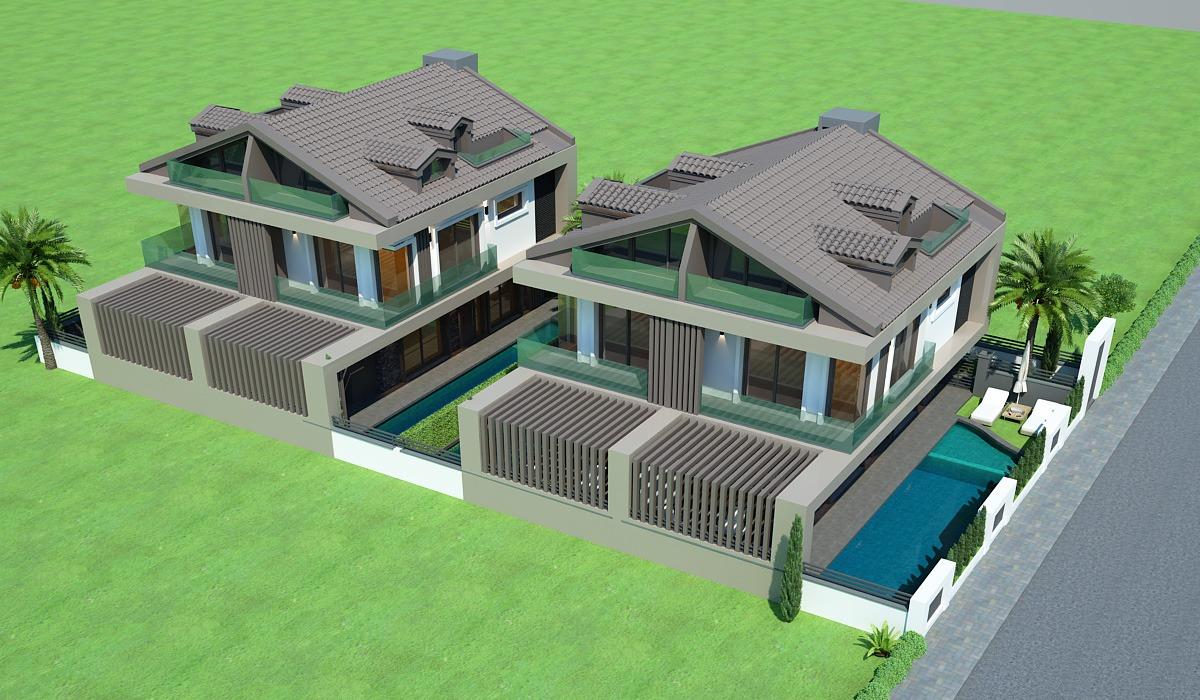 Akarca İkiz Villa Projesi